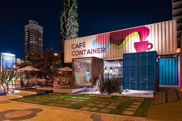 modelo de cafeteria café container