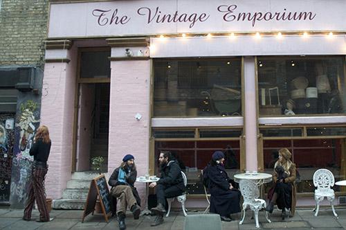 modelo de cafeteria the vintage emporium